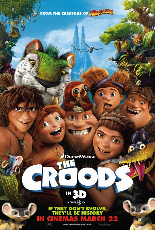 The Croods delivers laughter for the kids