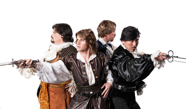 """""""The Three Musketeers,"""" an extravagant action adventure for all ages."""
