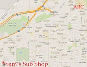 Sams Map