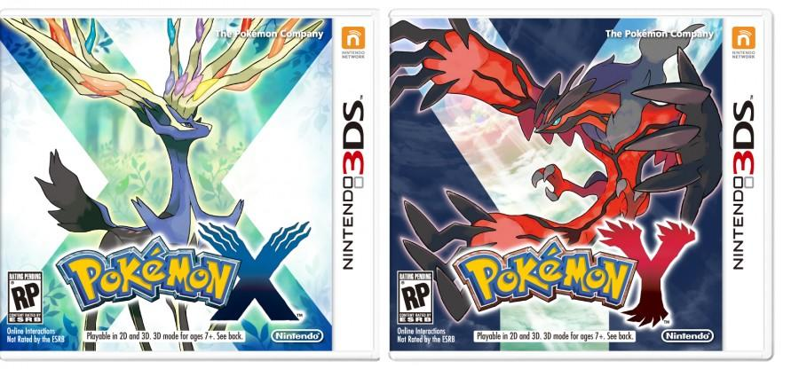 Official box art for the new Pokemon games.