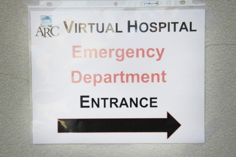 Don't worry, this emergency is only a simulation
