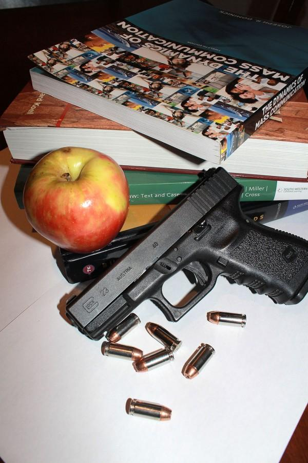 The+shootings+at+Sacramento+City+College+and+Umpqua+Community+College+should+cause+Americans+to+examine+the+relevance+of+the+second+amendment+in+the+21st+century.+%28file+photo%29
