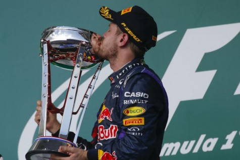 Sebastian Vettel won his first United States Grand Prix this past weekend, his eighth straight win this season, a new record.