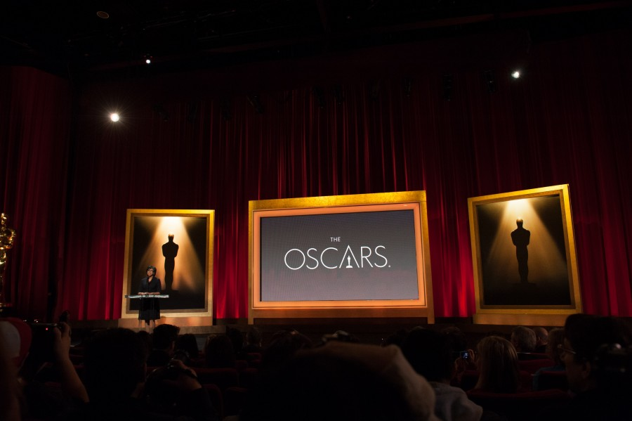 Actor+Chris+Hemsworth+and+Academy+President+Cheryl+Boone+Isaacs+%28pictured%29+announced+the+nominees+for+the+86th+Annual+Academy+Awards+in+the+Academy%27s+Samuel+Goldwyn+Theater.