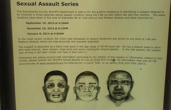 Suspect+sketches+for+the+three+sexual+assault+incidents+have+been+posted+around+campus.+Officials+are+looking+for+any+information+on+the+case.+%28Photo+by+Korbl+Klimecki%29