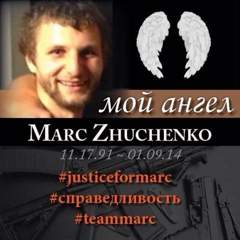 Marc Zhuchenko service to be held Saturday