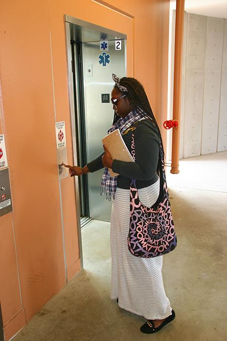 Students concerned about noisy elevators