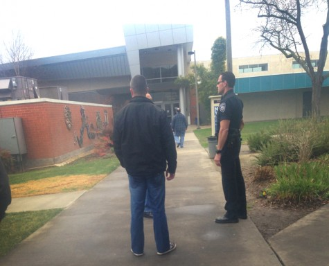- Campus police interview faculty regarding the disturbance on Thursday near the Learning Resource Center at 12:53p.m.
