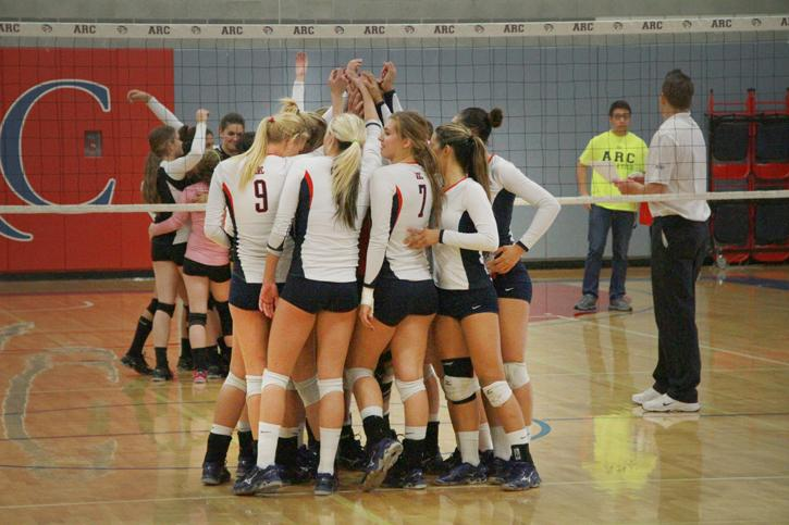 ARC's volleyball team made its first appearance in the California Community College Athletic Association's state tournament last season and had four members named to the All-Big 8 conference team. Head Coach Ashlie Frame was named the all –conference Coach of the Year. (Photo by Emily K. Rabasto)