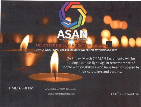 Vigil to be held to mourn disabled people murdered by caretakers