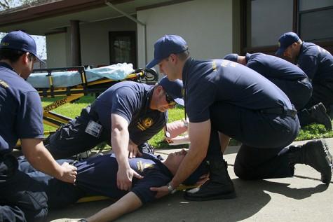 Paramedic students endure rigorous training at ARC