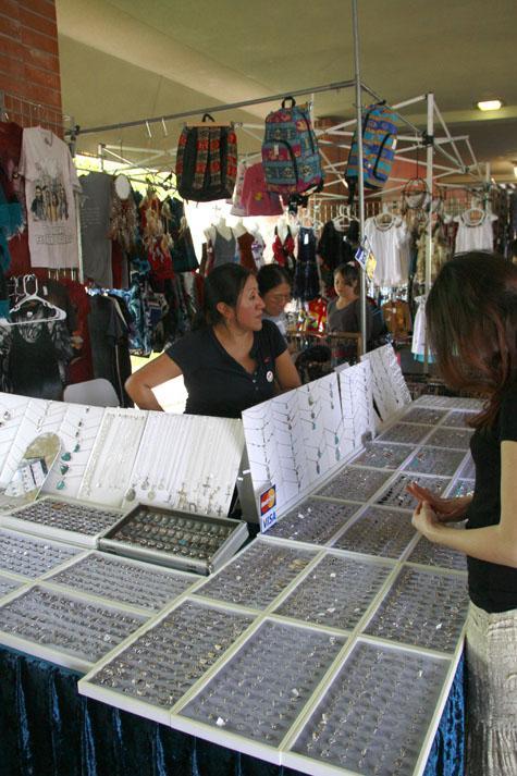 Beaver Week turns breezeway into bazaar