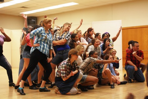 An exciting open stage night showcased ARC dancers' talent