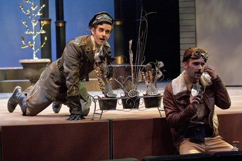 Loving Steampunk element, students new to college productions are proving themselves capable.