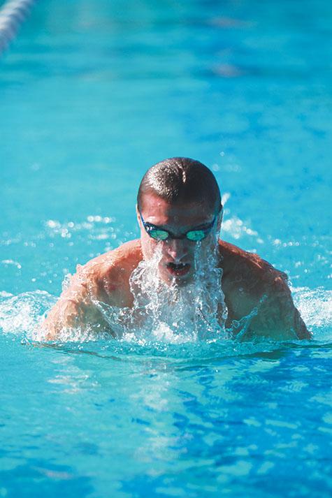 Big 8 championships for men's swim