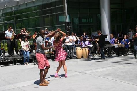Cultural melting pot at Multicultural Day