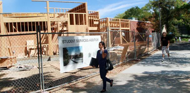 Construction moves forward