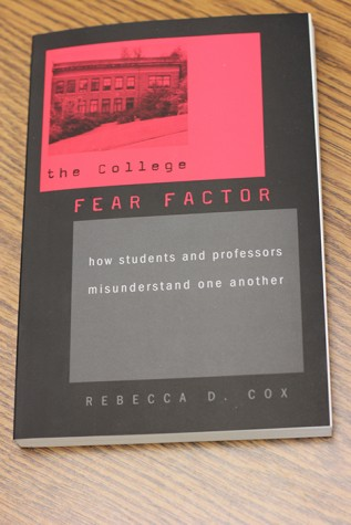 "ARC staff apply the book ""College Fear Factor"" to their students"