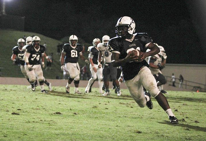 American River College football team is now ranked first in the state, according to the California Community College Athletics Association, after beating San Mateo, who was previously in first. (Photo by Emily K. Rabasto)