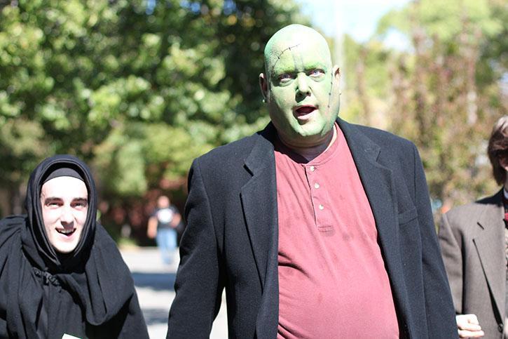 Frankenstein comes alive on stage