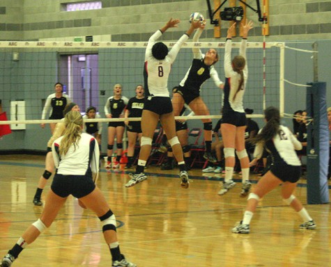 Volleyball team keeps head held high despite ending its season with a loss