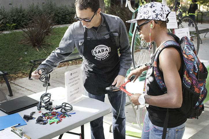 Bicycle advocates visit ARC after rash of thefts