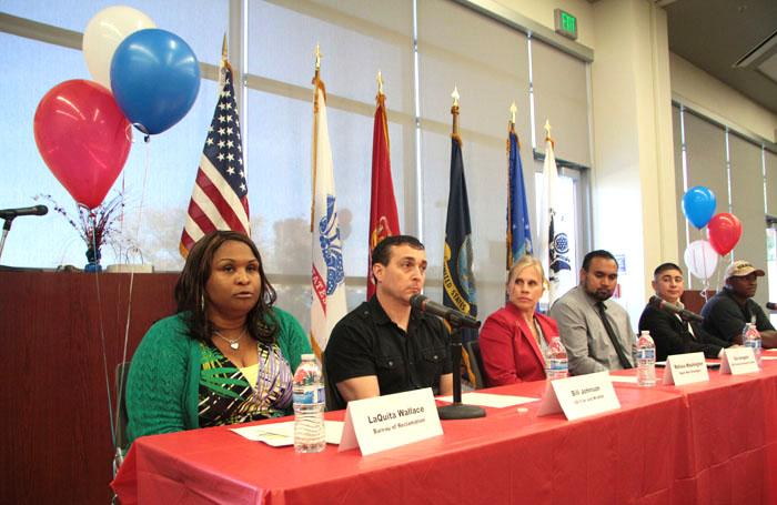 Panel addresses culture shock and veterans return to civilian life