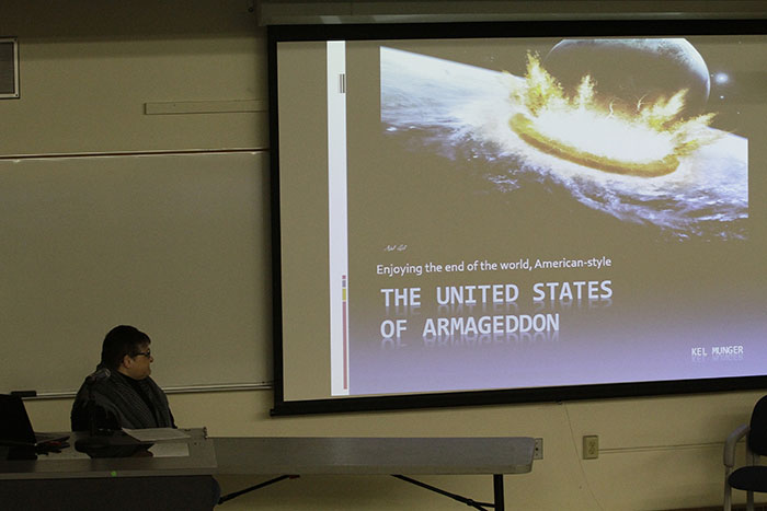Lecture at ARC discusses America's obsession with the end of the world