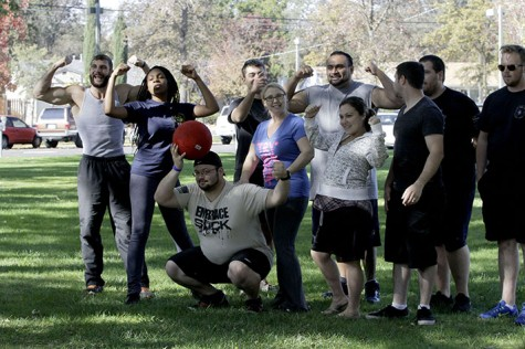 ARC vets assemble for kickball game