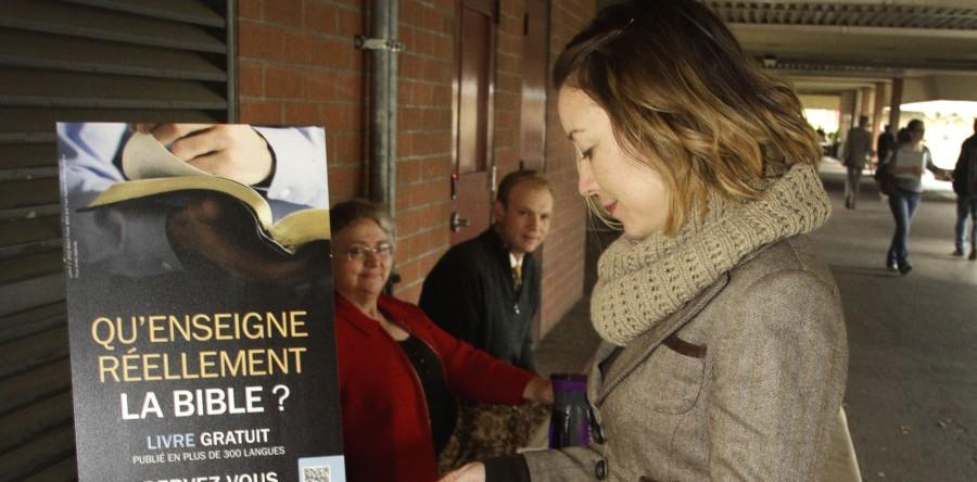 Religious Groups Assemble at ARC to Spread their Message
