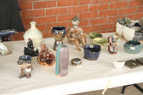 Ceramics department sells unique art at ARC in time for holidays