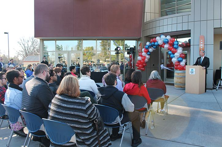 Ribbon cutting ceremony officially opens ARC's new culinary arts building