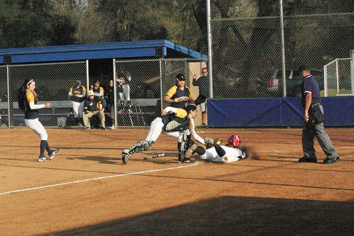 ARC softball swept Merced College in a doubleheader Thursday, finishing the second game earlier than expected.
