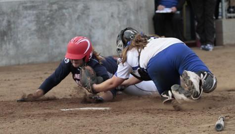 Softball team falls 10-6 in season opener at Solano Community College in error-filled game