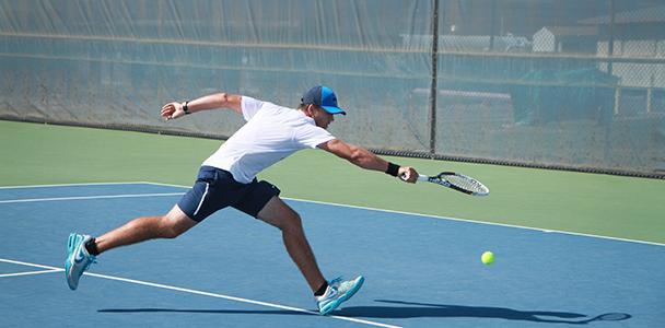 Men's tennis win 6-3, with women's team ending in walkover