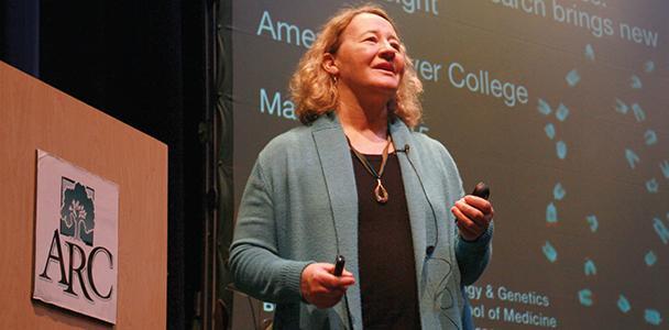 Nobel laureate visits ARC to remember her mother, a former professor