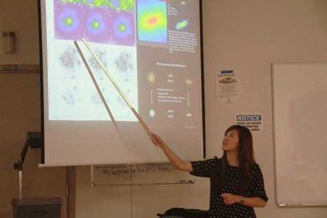 Former ARC student presents new research in astrophysics