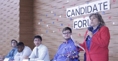 ASB candidates challenge school policies at forum