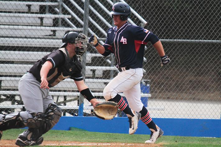 Baseball's offense gets back on track with 4-1 win in game one of critical series
