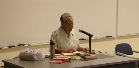 English professors recite their poetry at their annual Word Soup reading