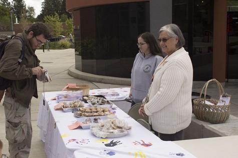 Child Development Center sells goodies to raise funds