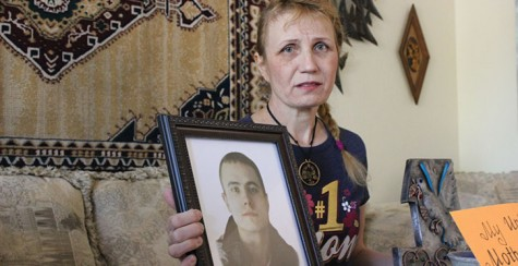 A mother silenced: A Ukrainian immigrant struggles to follow her son's murder trial