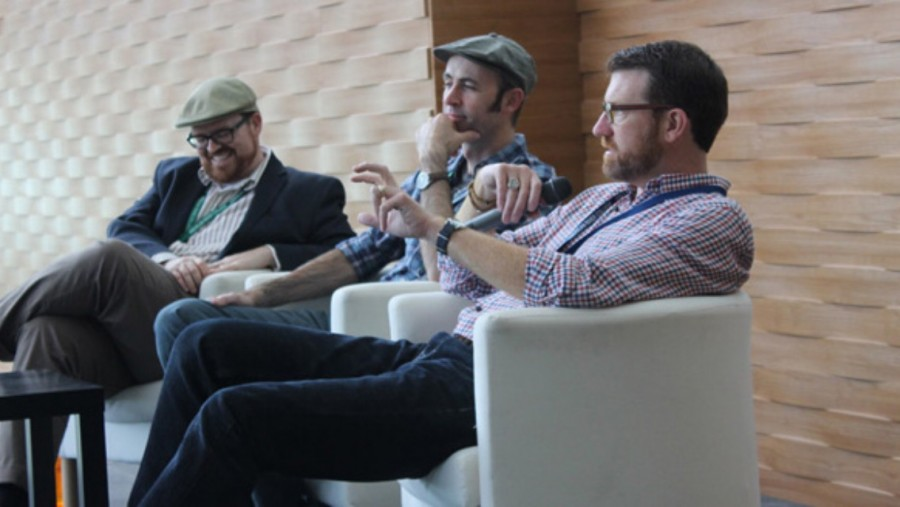 ARC+professors+discuss+the+basics+of+screenwriting+at+SummerWords