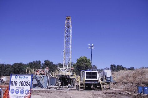 Hydro Resources, a water-drilling company out of Reno, Nevada, began drilling early this semester as ARC moves to replace one of it's two existing wells. The well being replaced