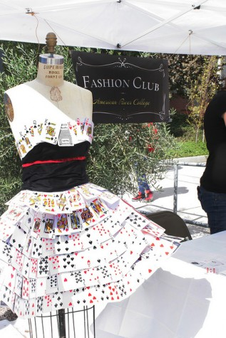 Fashion Club, was one of the clubs featured at Club Day. The game-themed event was hosted on Sept. 24 at ARC. (Photo By Ashley Nanfria)