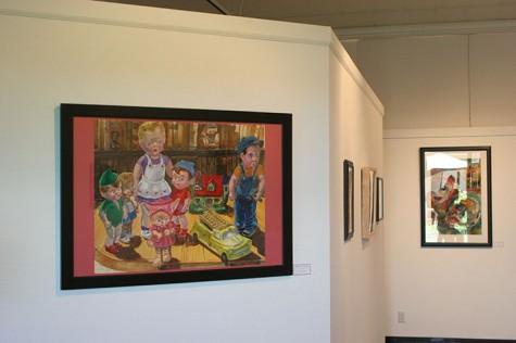An art piece by James Albertson titled
