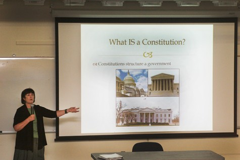 "College Hour talks ""Constitution Day"""
