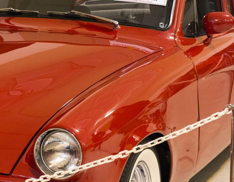 Sacramento International Auto Show displays a vintage Studebaker during the show Oct.16-18 at Cal Expo. (Photo by Joe Padilla)