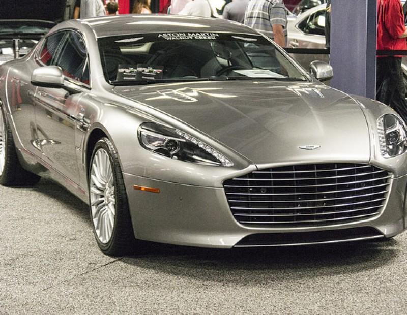 Sacramento International Auto Show displays a Aston Martin for sale during the show Oct.16-18 at Cal Expo. (Photo by Joe Padilla)