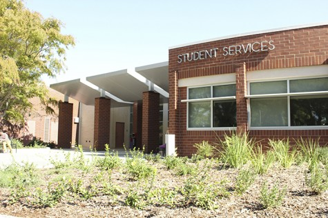 The new wing of the Student Services adds 5,500-square feet to the building. The west side underwent a 14-month remodel from April 2014 to summer 2015. (Photo by Jordan Schauberger)